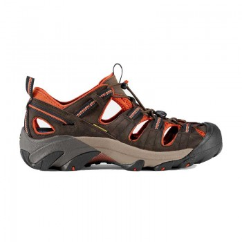 Keen Men's Arroyo II Sandal - Black Olive/Bombay Brown