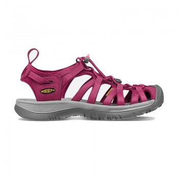 Keen Whisper Women's Sandal - Beet Red/Honeysuckle