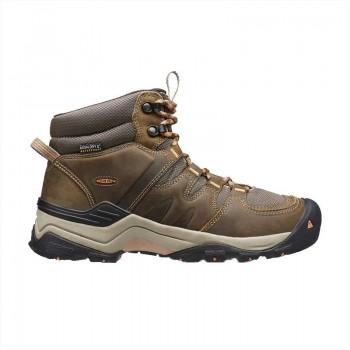 Keen Gypsum II Waterproof Mid Women's Boot - Cornstock/Gold Coral