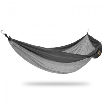 Ticket to the moon Double Hammock Light grey/Dark grey