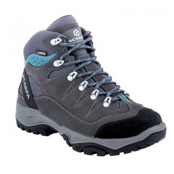 Scarpa Mistral GTX Women's Hiking Boot - Smoke/Polar Blue