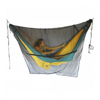 Ticket to the moon Mosquito Net- Black
