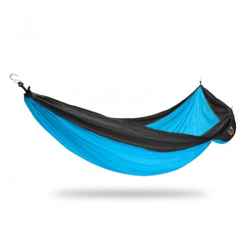 Ticket to the moon Single Hammock Turquoise / Dark grey